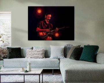 Frank Zappa Gemälde von Paul Meijering