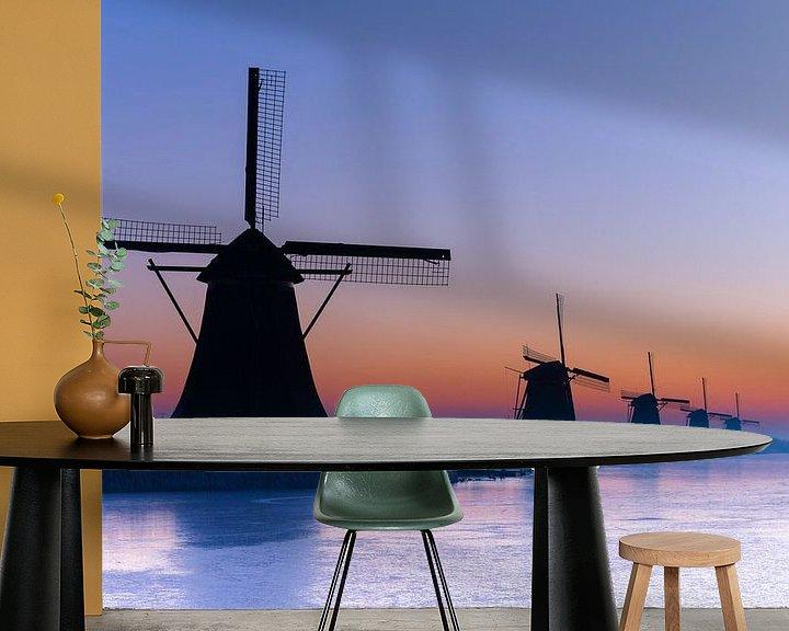Beispiel fototapete: Kinderdijk von Peter Sneijders