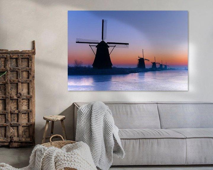 Beispiel: Kinderdijk von Peter Sneijders