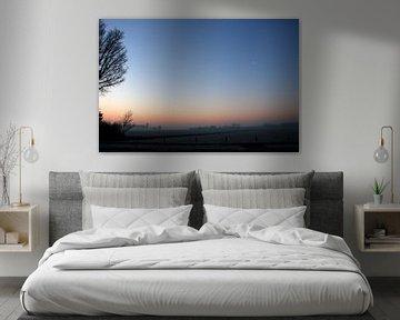 Kleurige zonsopkomst van Cora Unk