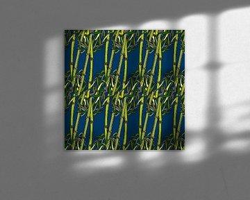 GRAFISCHE PRINT BAMBOE 5 van Marijke Mulder