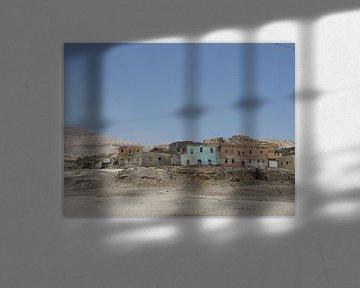 'Spookstad', Luxor- Egypte von Martine Joanne