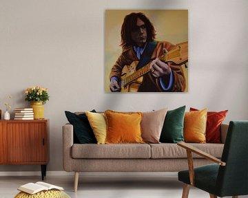 Neil Young schilderij  von Paul Meijering