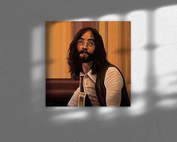 John Lennon Schilderij von Paul Meijering