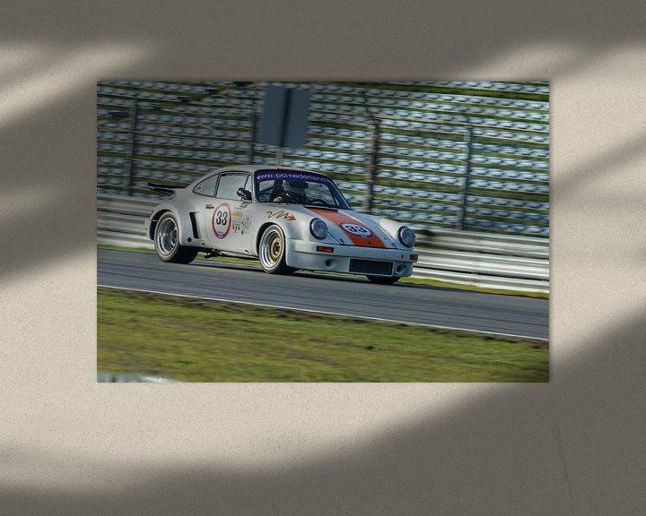 Sfeerimpressie: Porsche 911 race  van Menno Schaefer