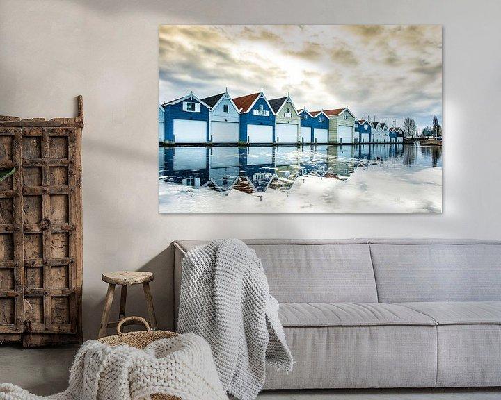Sfeerimpressie: De boothuisjes  van Inge Jansen
