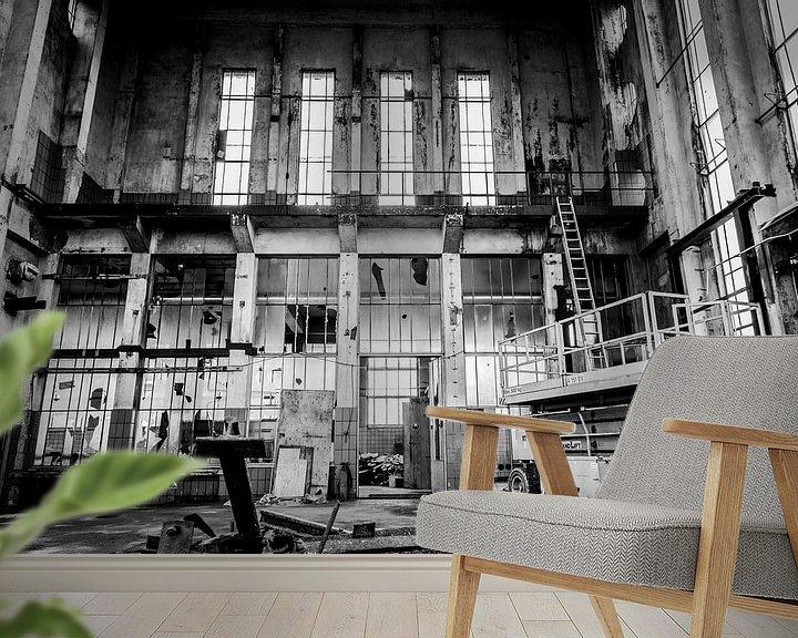 Beispiel fototapete: Krachtcentrale z/w von Vincent Snoek