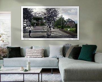 Iepenlaan in Huizen ( oud & nieuw serie)  von Vincent Snoek