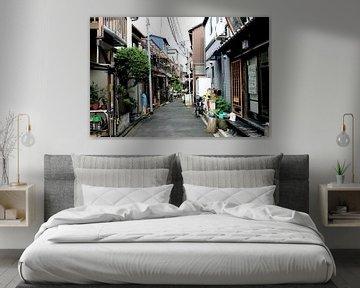 'Straatje in Yanaka', Tokyo- Japan van Martine Joanne