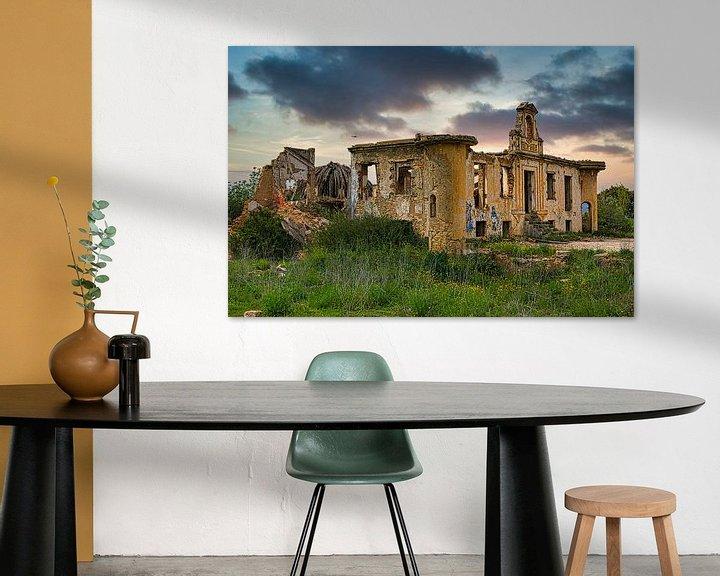 Sfeerimpressie: Ruïne van Torre Green Soul van Atelier Liesjes