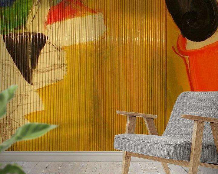 Sfeerimpressie behang: Na Praten van Willie Wete