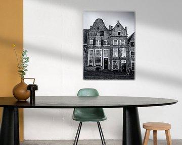 Typisch Hollandse gevels in Deventer  van Heleen van de Ven