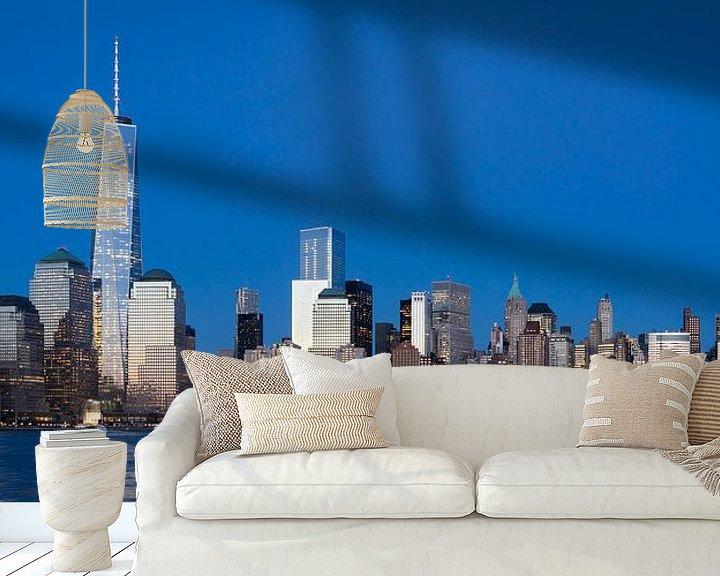Sfeerimpressie behang: New York van Eriks Photoshop by Erik Heuver