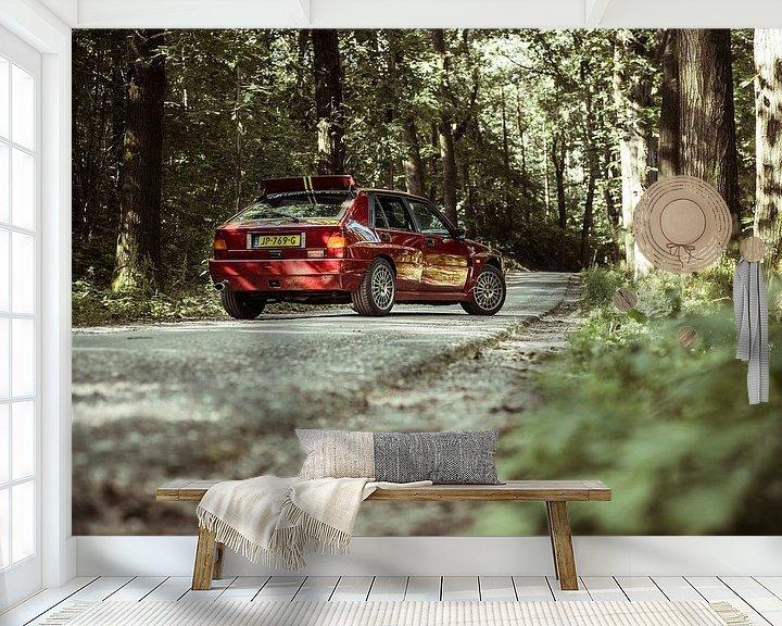 Beispiel fototapete: Lancia Delta Integrale Evo 2 ?Final Edition? von Sytse Dijkstra
