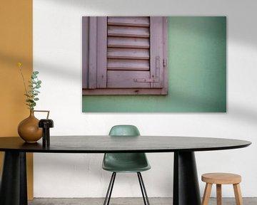 Colorful window van Marjolein Koster