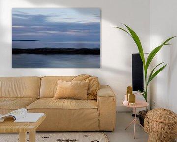 Verstild zeelandschap 5 van Jolanda Sprokholt