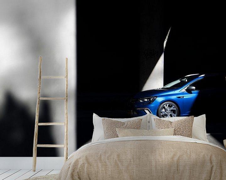 Beispiel fototapete: Renault Megane Estate Sunshine von Sytse Dijkstra