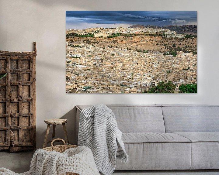 Sfeerimpressie: Fes, de koningsstad, Marokko van Rietje Bulthuis