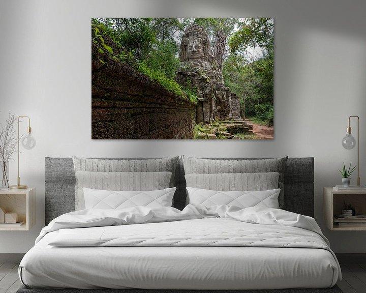Sfeerimpressie: Ta Prohm, Angkor Wat van Richard van der Woude