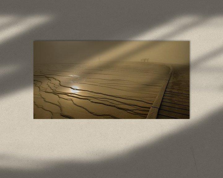 Sfeerimpressie: Mystieke sfeer Grand Prismatic Spring van Monique Pouwels