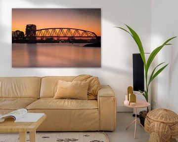 Spoorbrug Nijmegen van Jeffrey Van Zandbeek