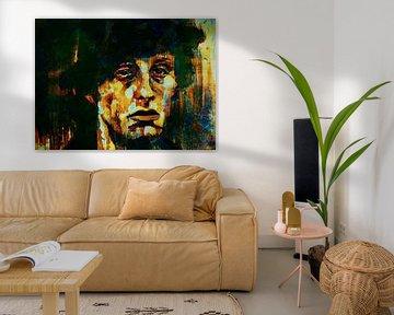 Rocky Balboa Expressive Pop Art sur Felix von Altersheim