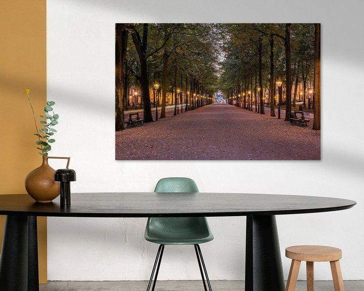 Beispiel: Lange Voorhout, Den Haag in der blauen Stunde.  von John Verbruggen