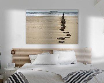 Zeeuws strand van Vincent van Kooten
