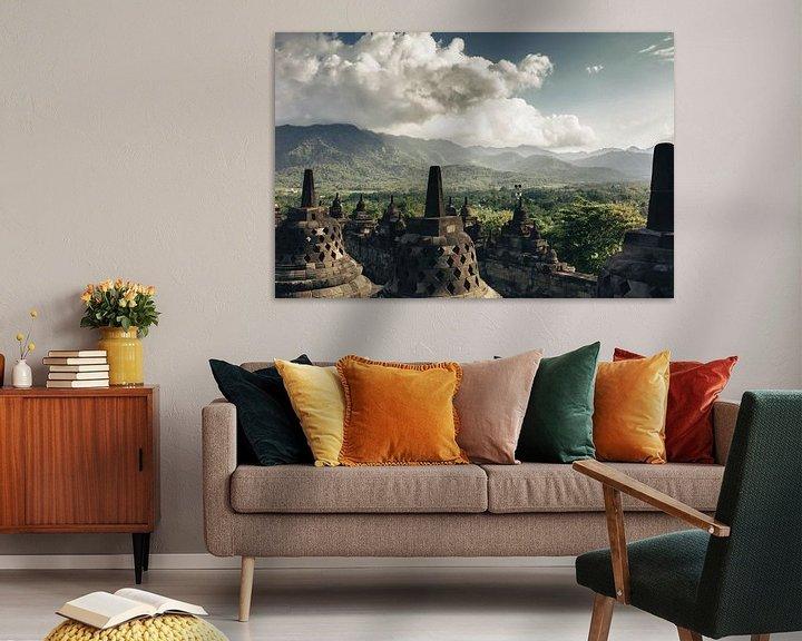 Sfeerimpressie: Borobudur van Lars Korzelius