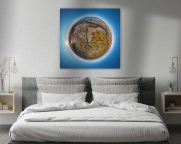 Tiny Planet Slufter Texel von Texel360Fotografie Richard Heerschap