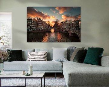 Amsterdam licht von Pieter Struiksma