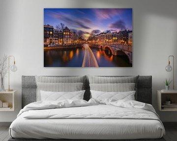 Amsterdam lichtsnelheid van Pieter Struiksma