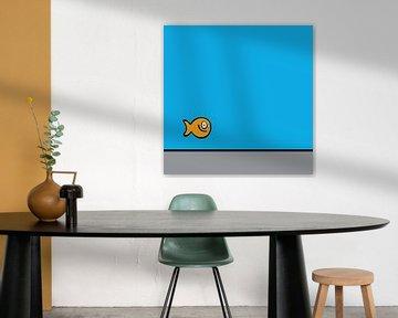 vis, goldfish, fish