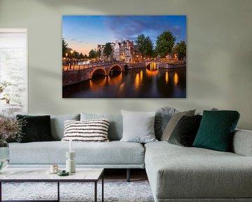 Amsterdam avond stemming von Pieter Struiksma