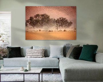NAMIBIA ... through the storm II van Meleah Fotografie