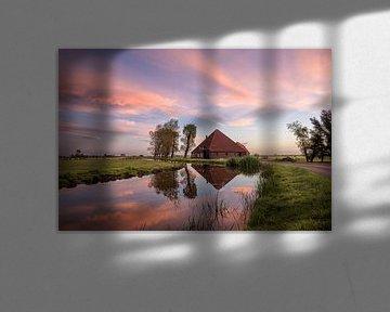Nederlandse boerderij van Pieter Struiksma