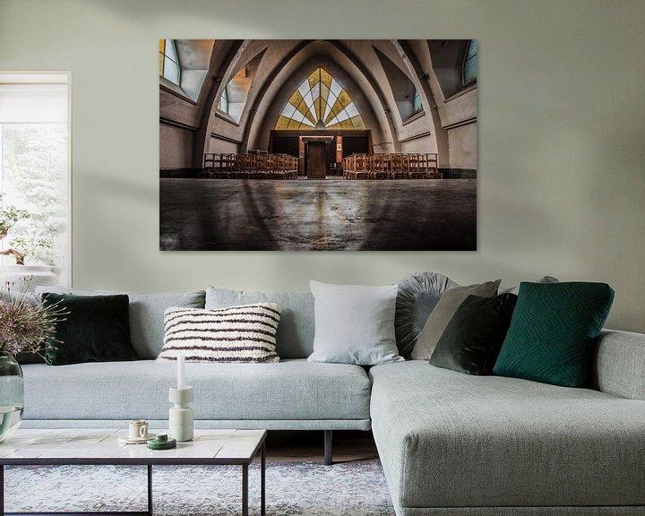 Beispiel: Urbex chapel von Paul van Dijk