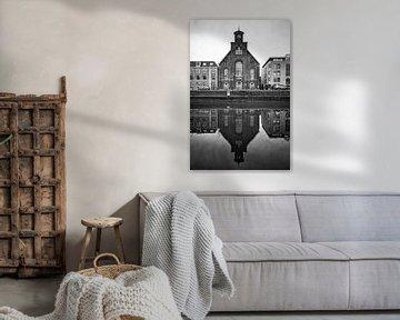 Architectuur in Utrecht: De Westerkerk aan de Catharijnekade in Utrecht