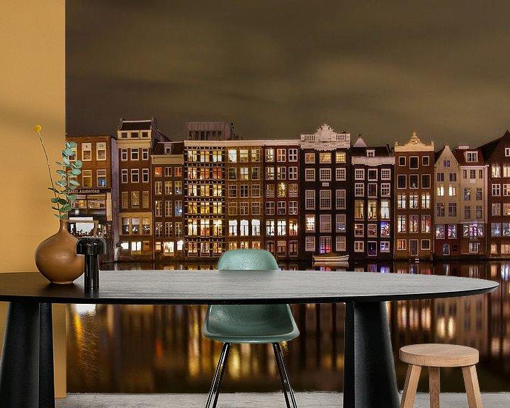 Sfeerimpressie behang: Amsterdam van Pim Leijen