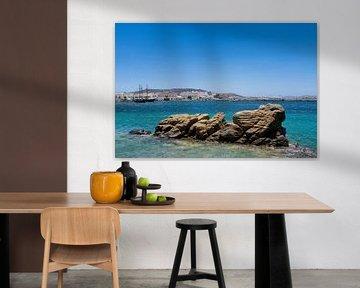 Hafen von Mykonos von Atelier Liesjes