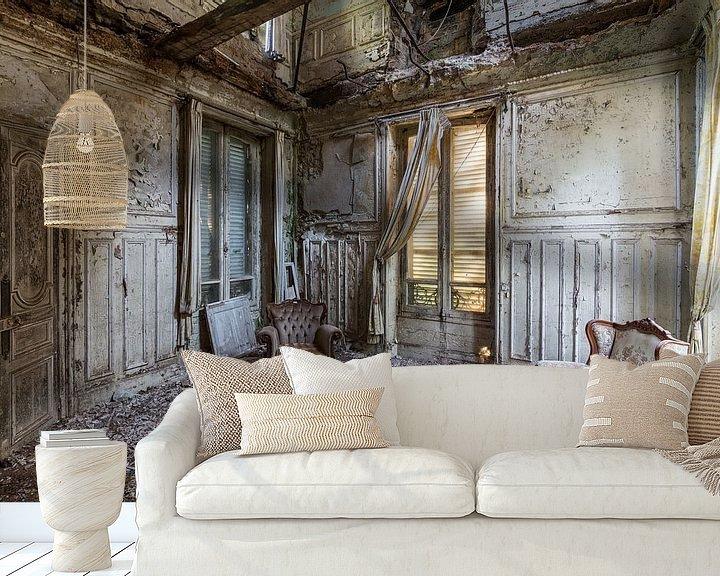Sfeerimpressie behang: Feeling like home van Oscar Beins