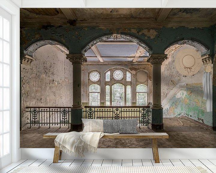 Sfeerimpressie behang: The main hall van Oscar Beins