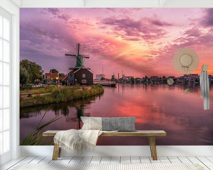 Sfeerimpressie behang: De Huisman van Pieter Struiksma