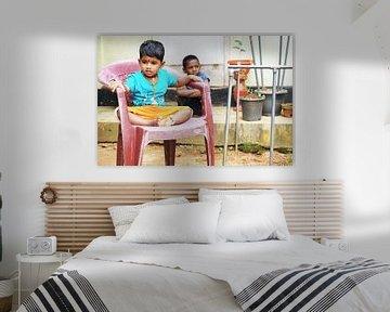 Een aantal kinderen uit Sri Lanka. von Sarah Vandermeulen