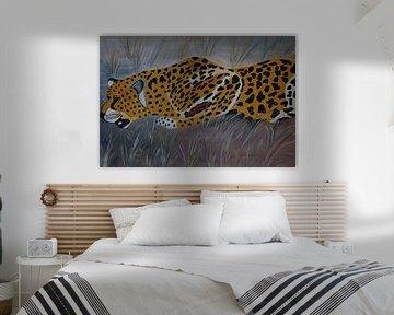 Gepard auf der Jagd I sur Babetts Bildergalerie