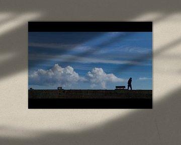 eenzame wandelaar  van Henk Speksnijder