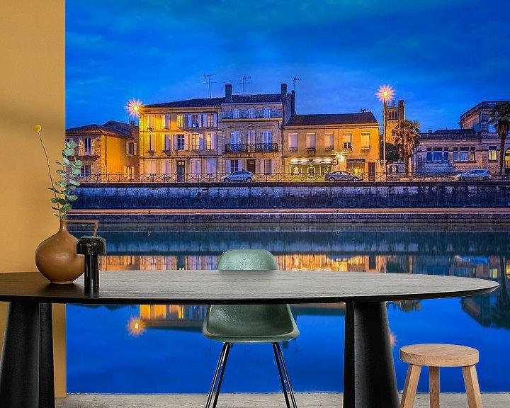 Beispiel fototapete: Blue River von Marcel de Groot
