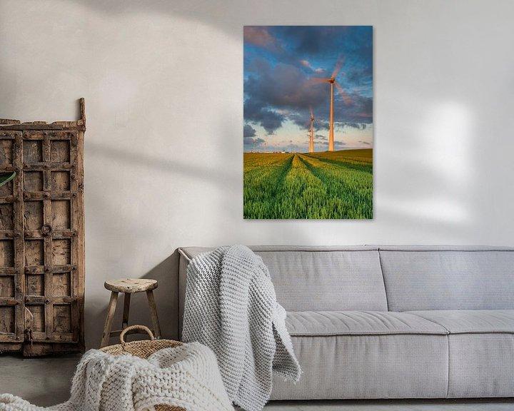 Impression: Windturbines in de Eemshaven sur Ron Buist