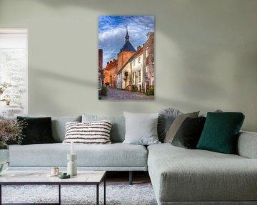 Muurhuizen Dieventoren historisch Amersfoort  van Watze D. de Haan
