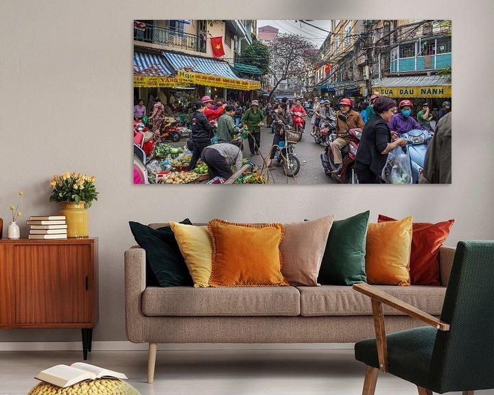 Sfeerimpressie: Hanoi Straatbeeld van Studio W&W